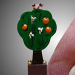 Miniature Orange Tree