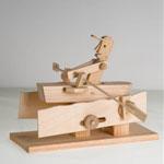 Rower - Mechanical Wooden Kit
