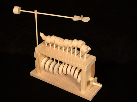 Wooden automata projects 9th